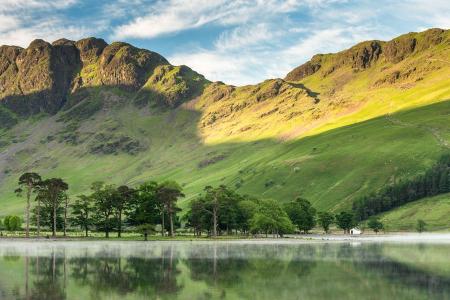 Lake District Buttermere Haystacks View Photography Print