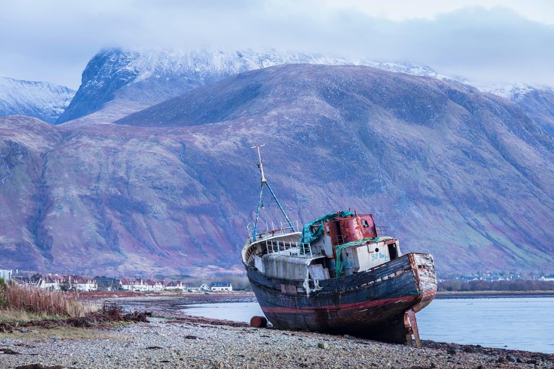 Scotland Ben Nevis Corpach Porfolio Image
