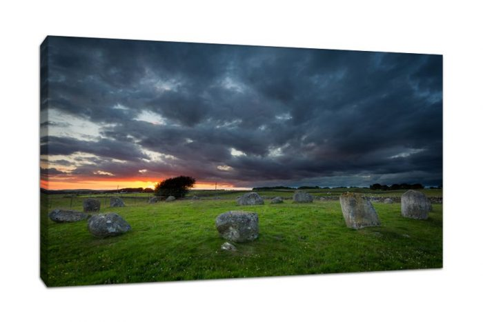 Dumfries and Galloway Torhouse Stone Circle Canvas Print