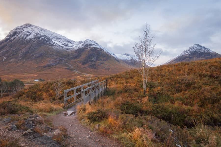 Glen Coe Bridge Featured Print