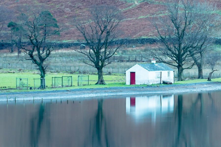 Buttermere Bothy View at 100% Detail