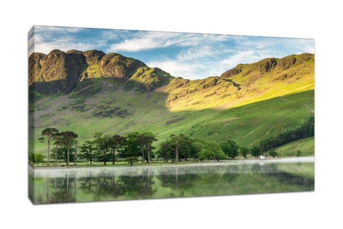 Luxury Lake District Buttermere Pines Canvas Print from CJ Smith Photography
