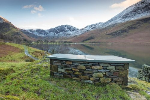 Lake District Sunset Print of Buttermere in Cumbria