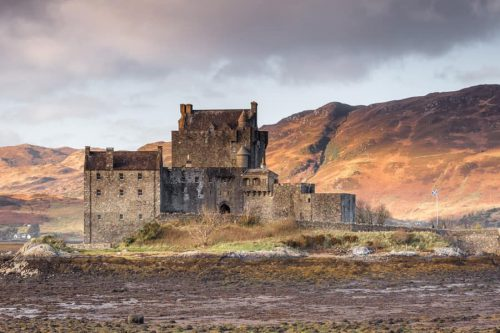 Eilean Donan Castle Print by CJ Smith Photography