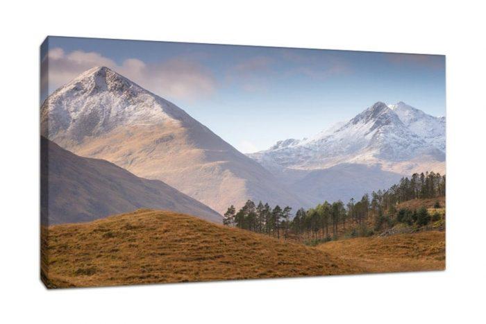Scotland Glen Shiel Canvas Print