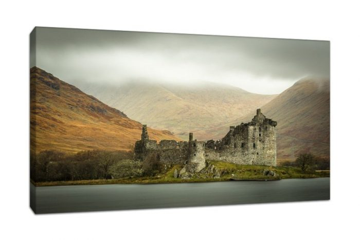 Scotland Highlands Kilchurn Castle Canvas Print