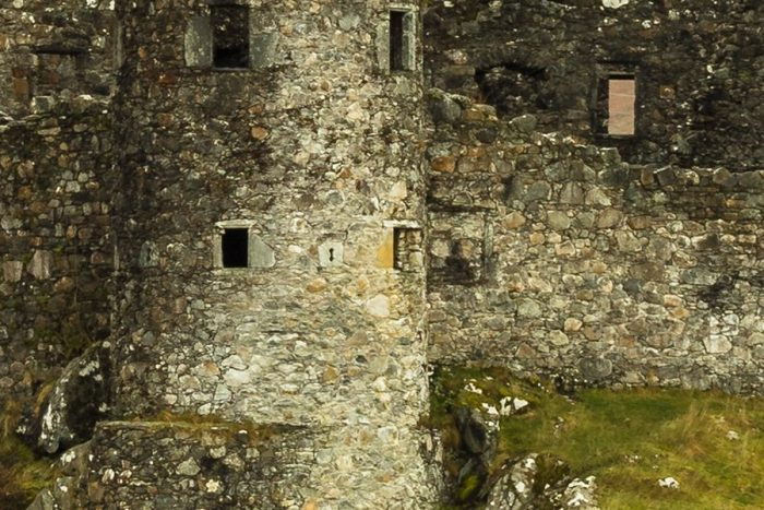 Kilchurn Castle Detailed View
