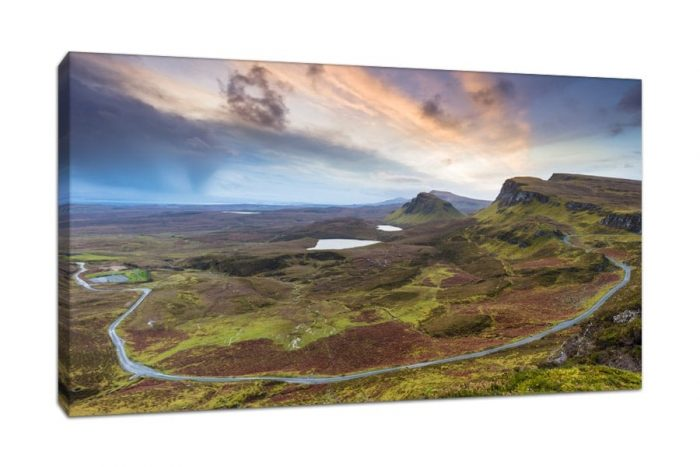 Isle of Skye Quairang Sunrise Canvas Picture Print