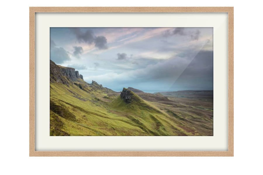 Oak Framed Photography of the Quiraing on the Isle of Skye