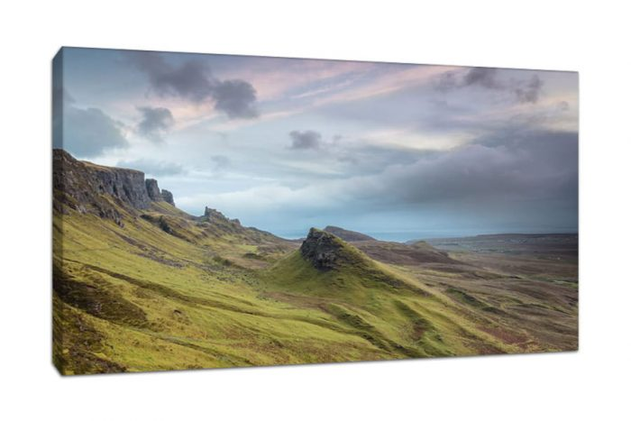Isle of Skye Quiraing Sunrise Canvas Picture