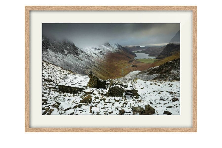 Warnscale Bothy Buttermere Oak Framed Print