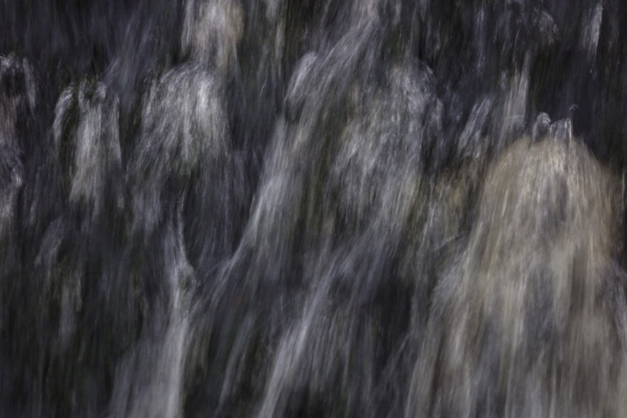 Abstract Waterfall Print by Photographer Chris Smith