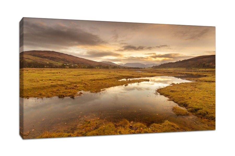 Appin Scotland Sunrise Canvas Print