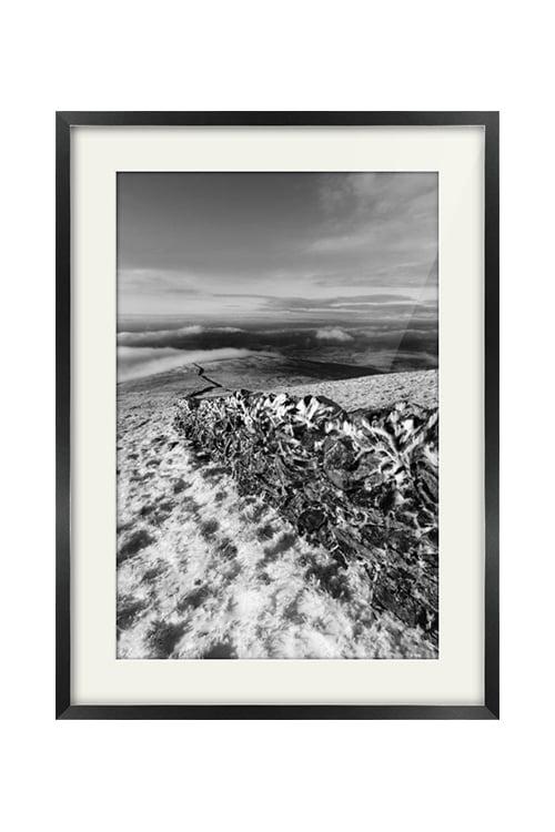 Benyellary View Portrait Style Black Frame Print