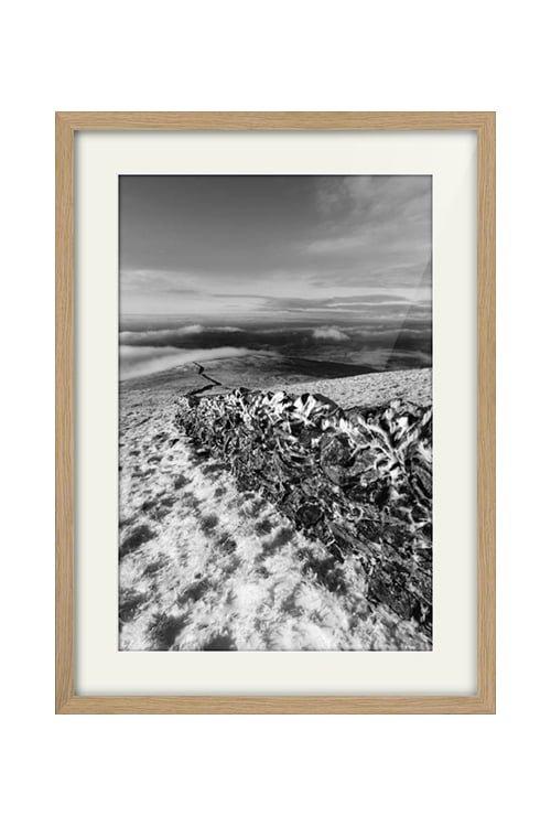 Benyellary View Portrait Style Oak Frame Print