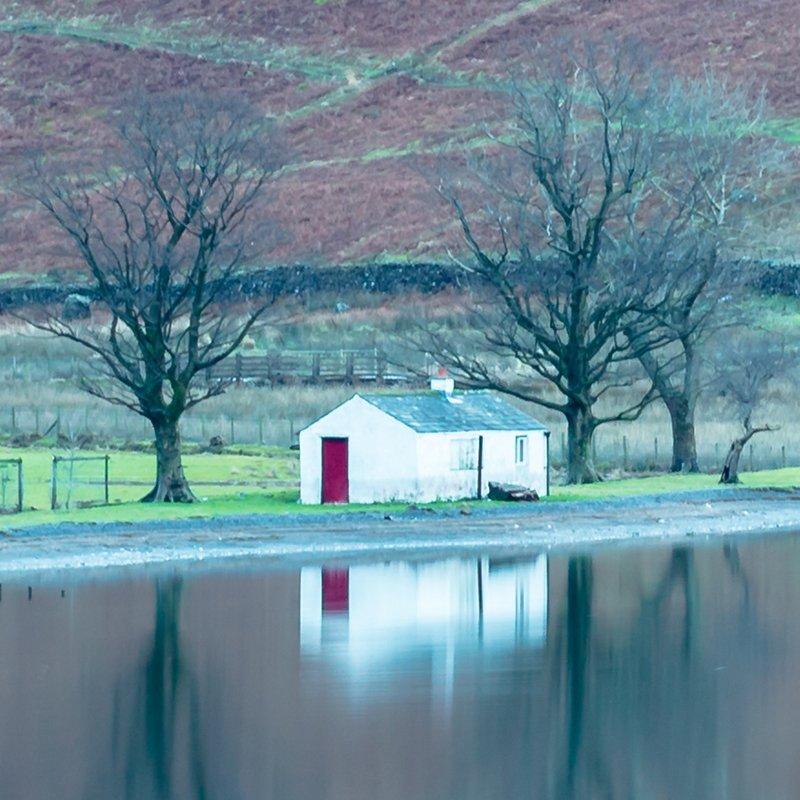 Buttermere Bothy Zoomed In Detailed View