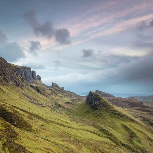 Quiraing Isle of Skye Print Only Square Crop