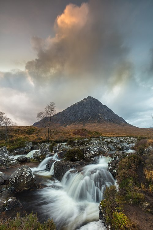 Buachaille Etive Mor Portrait Featured Image Print